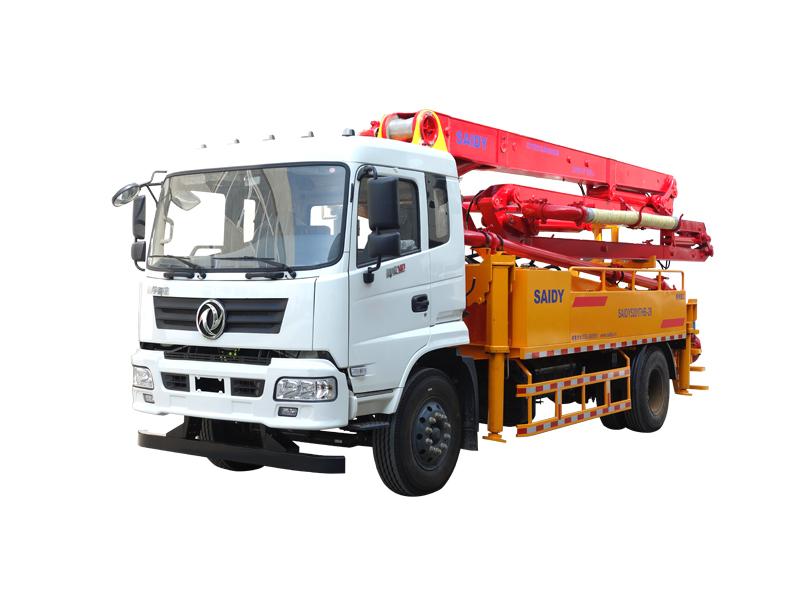 THB系列臂架式混凝土泵车