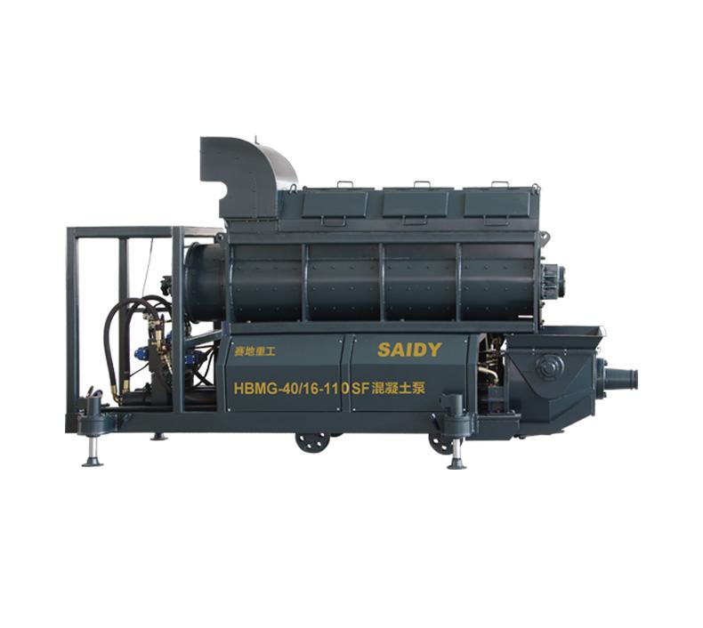 陕西HBMG系列矿用混凝土泵