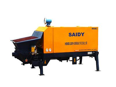 HBMD系列矿用混凝土泵